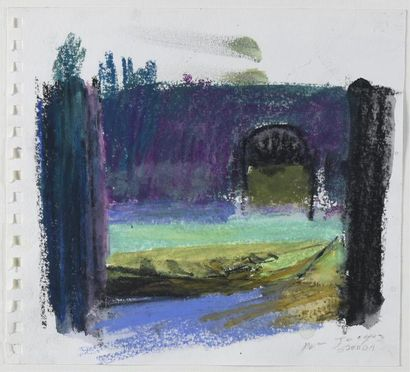 Patrice GIORDA (né en 1952) Venise Pastel,...
