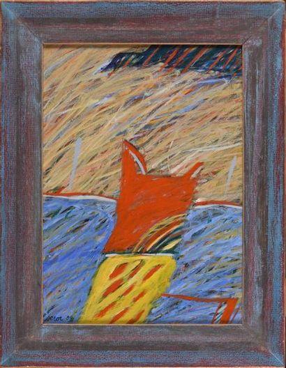 Louis SEROR (né en 1943) L'élégant, 1994...