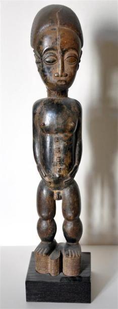 BAOULE - COTE D'IVOIRE Statuette en bois...