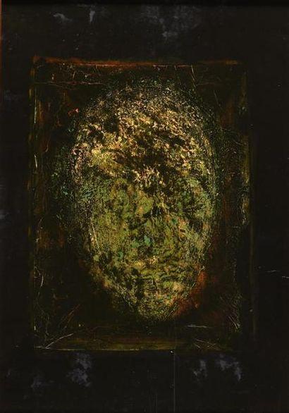 Jean-Philippe AUBANEL (né en 1953) Tête griffée,...