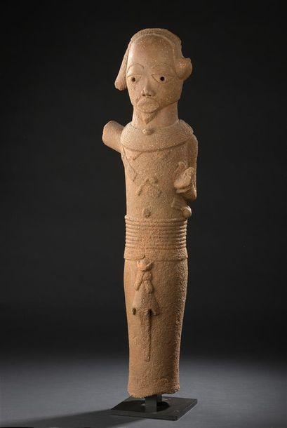 Statue en terre cuite Nok Nigeria 300 av....