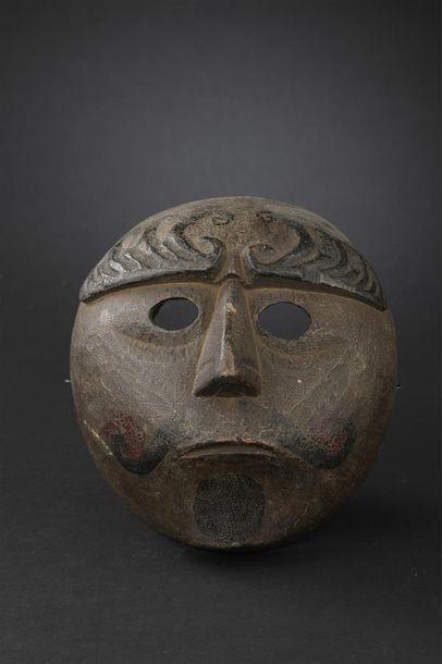 Masque au visage circulaire Guatemala Début...