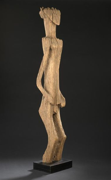 Statue Sakalava Madagascar H. 105 cm Statue...