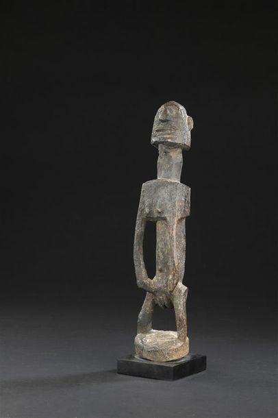 Statuette Dogon Mali H. 35 cm Provenance...