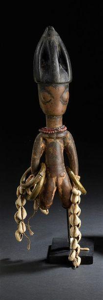 Statuette Yorouba, Ibeji Nigeria H. 25 cm...