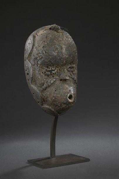 Masque Ibibio Nigeria H. 23 cm Provenance...