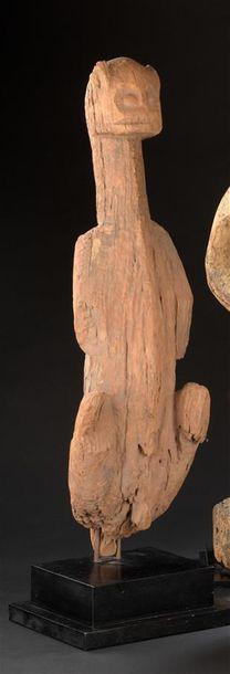 Statuette Bamoun Cameroun H. 69 cm Grande...
