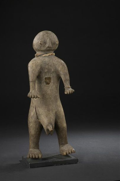 Statuette Chamba/Montol Nigeria H. 28 cm...