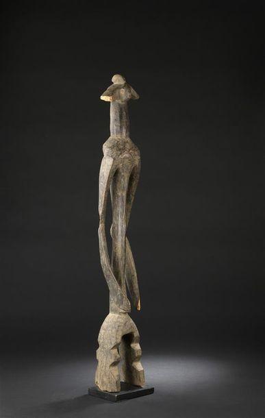 Statue Mumuyé Nigeria H. 93 cm Très belle...