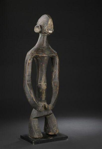 Statue Mumuyé Nigeria H. 63 cm Publication...