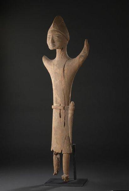 Statue Yorouba Nigeria H. 95 cm Provenance...
