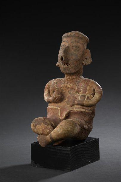 Homme assis Culture Nayarit, Ixtlan del Rio,...