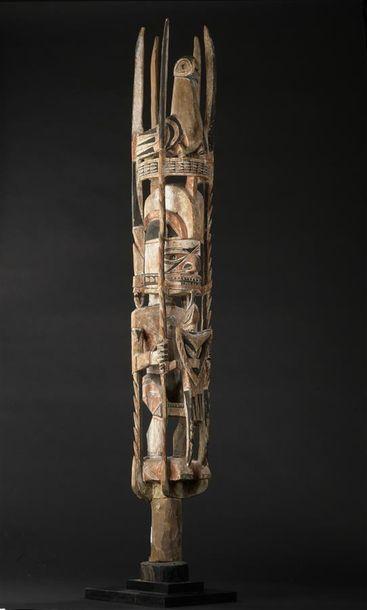 Sculpture Malagan Nouvelle-Irlande, Île du...