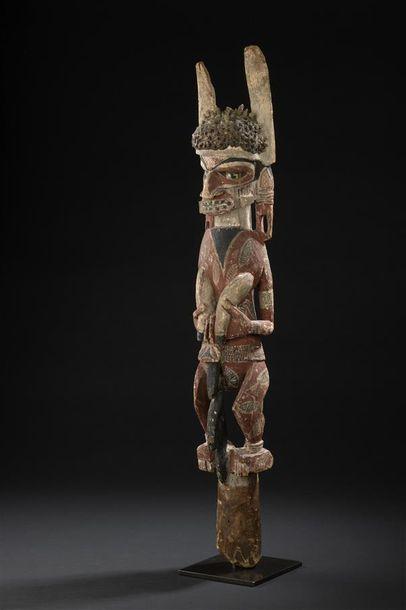 Sculpture Malagan Nord de la Nouvelle-Irlande...