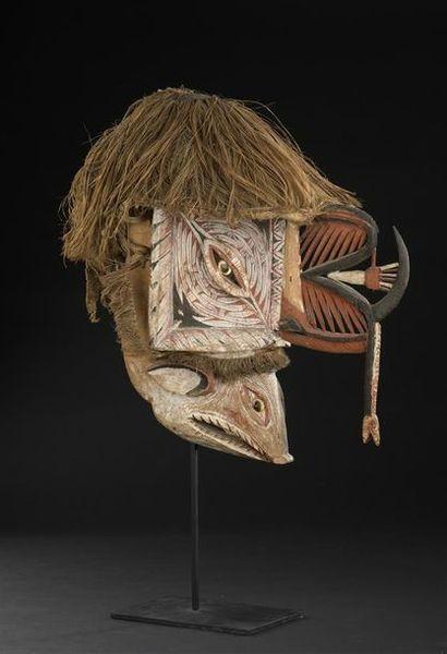 Masque Kepong Nord de la Nouvelle-Irlande...