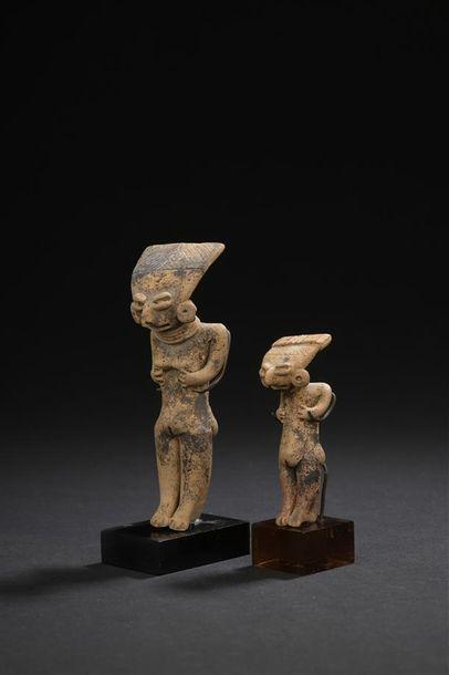 Deux petites Vénus Culture Chupicuaro, Mexique occidental Protoclassique, 150 av....