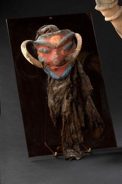 Masque Vanuatu, Malekula H. 34 cm Masque...