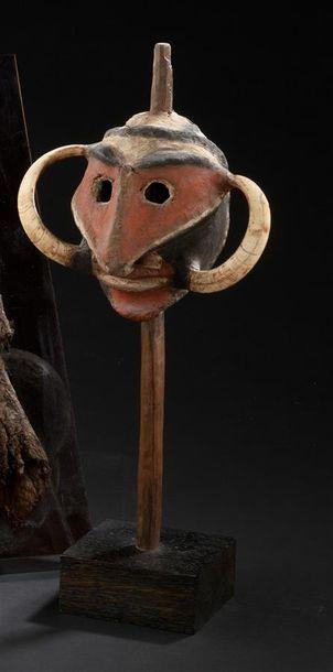 Marionnette Vanuatu, Malekula H. 34 cm Tête...