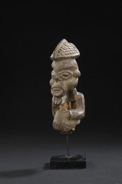 Buste Bamoun Cameroun H. 19 cm Fragment de...