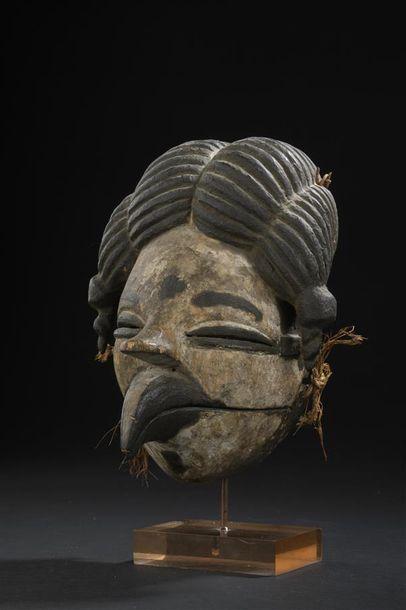 Masque Ogoni Nigeria H. 20 cm Beau masque...