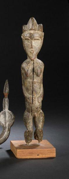 Statuette Baoulé Côte d'Ivoire H. 30 cm Statuette...