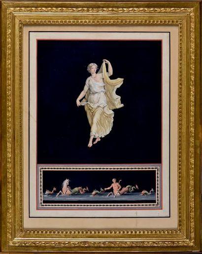 Michelangelo MAESTRI (actif à la fin du XVIIIedébut du XIXe siècle, mort en 1812)