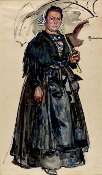 Lucien SIMON (1861-1945)