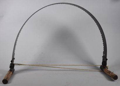 Scie de bûcheron L. 122 cm
