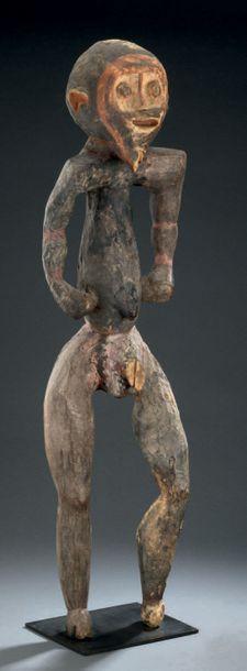 Statue Mambila - NIGERIA Bois H. 86 cm Provenance...