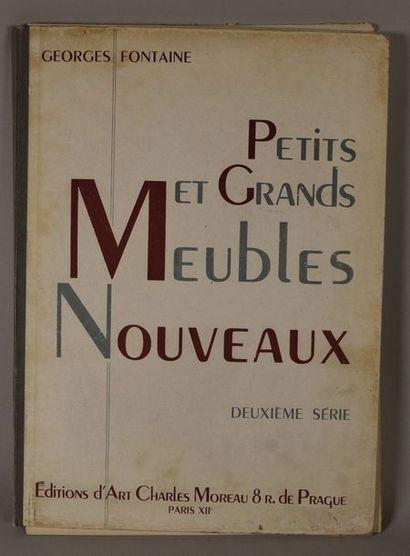 PETITS ET GRANDS MEUBLES NOUVEAUX, deuxième...