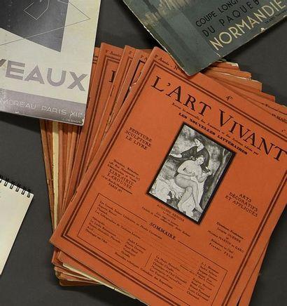 L'ART VIVANT (Art décoratifs et appliqués...