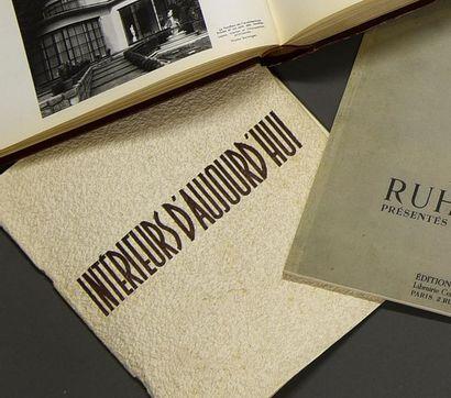 INTÉRIEURS D'AUJOURD'HUI - SAISON 1937/38...