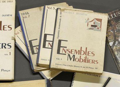 ENSEMBLES MOBILIERS, volumes 2, 5, 7 et 17-...