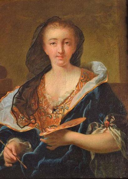 École FRANÇAISE vers 1725-1730, entourage d'Hyacinthe RIGAUD