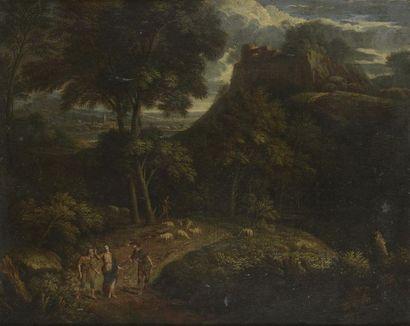 ÉCOLE FRANÇAISE de la fin du XVIIe siècle, entourage de Francisque MILLET