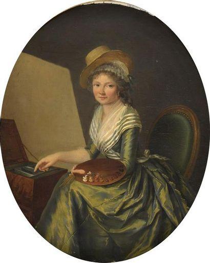 Attribué à Marie Victoire LEMOINE (1754-1820)
