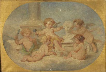 Attribué à Émile BIN (1825-1897)