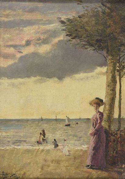 Alfred Emile Léopold STEVENS (1823-1906)