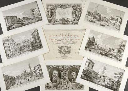 [Venise] Antonio VISENTINI (1688-1782) Planches...