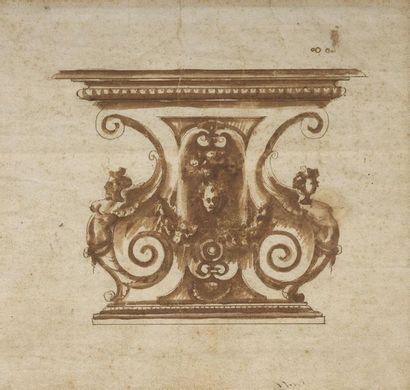 Attribué à Marco MARCHETTI dit MARCO da FAENZA (1536-1588)