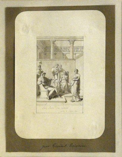 École NÉOCLASSIQUE, vers 1800