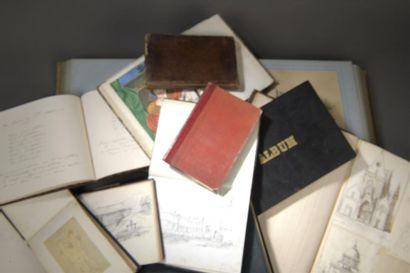 Album amicorum du XIXe siècle de 97 pages...