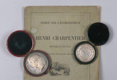 Notice sur l'établissement de M. Henri Charpentier,...