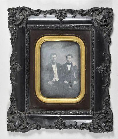 Daguerréotype demi-plaque, vers 1850 Très...