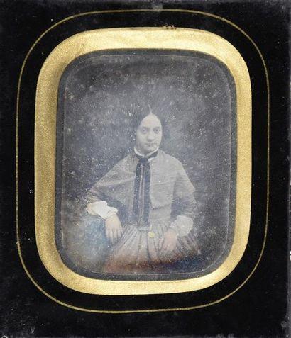 Daguerréotype par E. Fixon, 1849 Portrait...