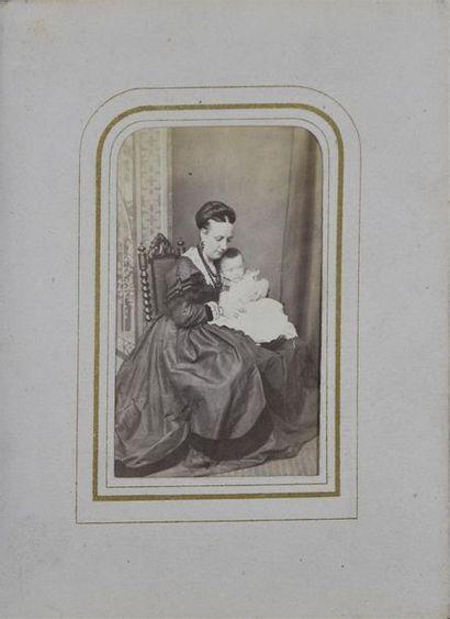 Album anglais de cartes de visite 1860/1890...