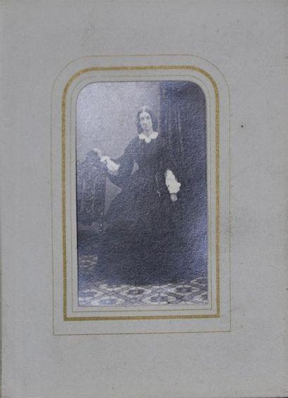 Album anglais de cartes de visite 1860/1890 25 portraits, épreuves albuminées au...
