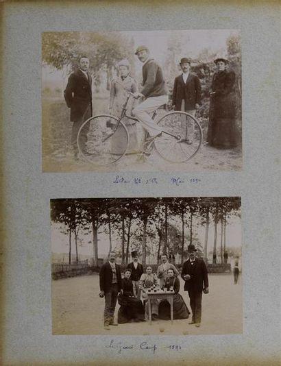 Bel album de famille de la fin du XIXe siècle...