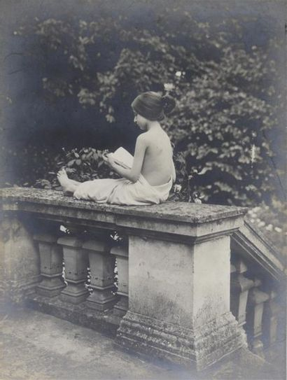 La muse littéraire, vers 1900 Intéressant...