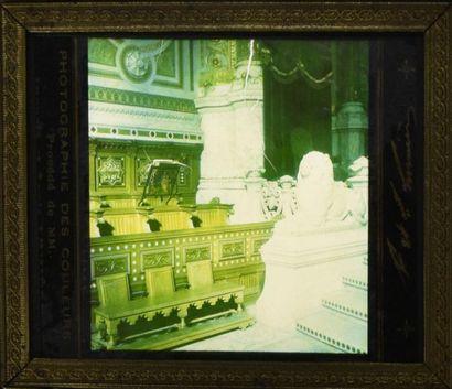 Les frères Lumière et la couleur, avant l'autochrome Rare et exceptionnel ensemble...